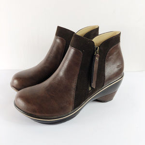 [JAMBU] Pilot Encore Faux Leather Heeled Booties